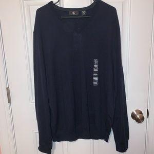 Calvin Klein men's extra fine merino sweater
